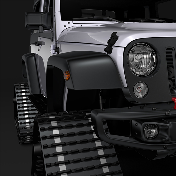 Jeep Wrangler Crawler Rubicon Recon JK 2017 - 3DOcean Item for Sale
