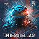 Interstellar EDM Electro Dj Party Flyer