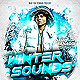 Winter Sounds Party Flyer