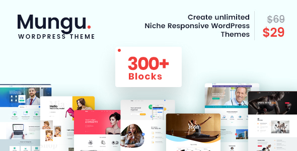 mungu - multipurpose & multiconcept wordpress theme (corporate) Mungu – MultiPurpose & MultiConcept WordPress Theme (Corporate) cover