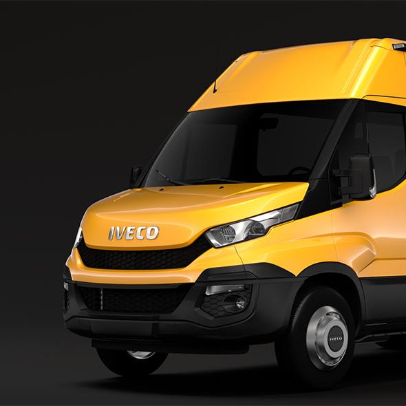 Iveco Daily Minibus L2H2 2014-2016 - 3DOcean Item for Sale