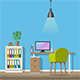 Modern Home Office - GraphicRiver Item for Sale