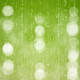 Particles Bokeh on Green Background - VideoHive Item for Sale