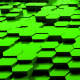 Green Hexagon Background Random Motion Loop - VideoHive Item for Sale