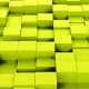Yellow Cubes Background Loopable - VideoHive Item for Sale