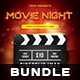 Movie Night Flyer Bundle - GraphicRiver Item for Sale