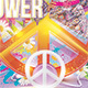 Peace Party Flower Power - GraphicRiver Item for Sale