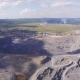 Aerial View Industrial of Very Big Mining Quarry with Lots of Machinery at Work - VideoHive Item for Sale