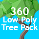 360 Degree Low-Poly Tree Pack