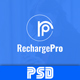 RechargePro - Online Mobile Recharge PSD Template - ThemeForest Item for Sale