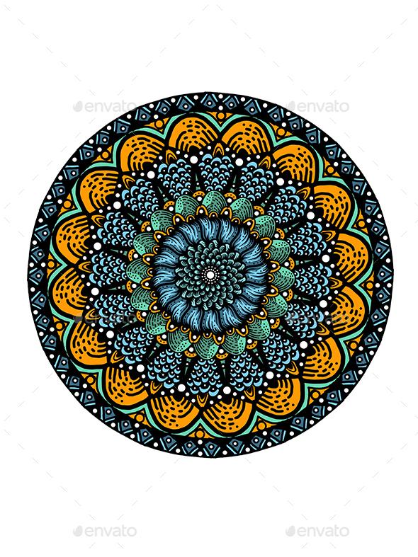 Mandala Art - Graphics