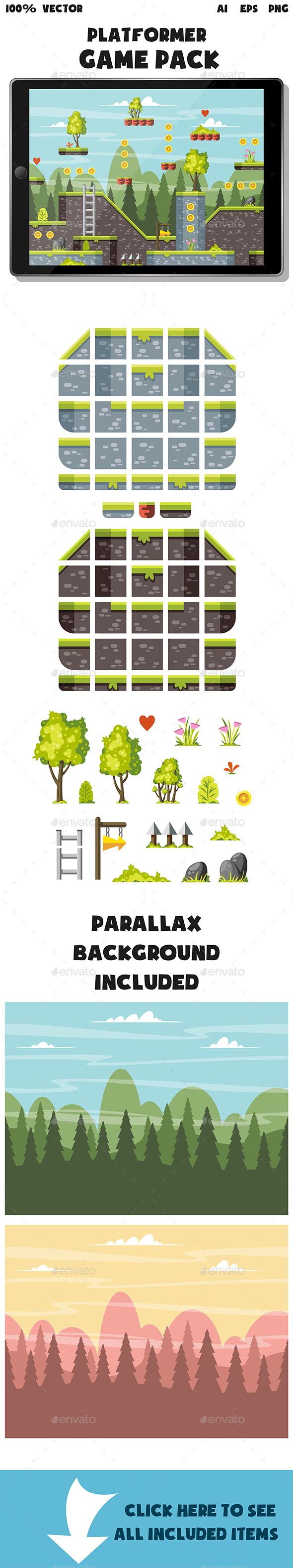 Platformer Game Pack