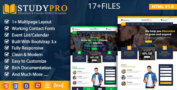 Education Course - Study Pro Free Download | Nulled
