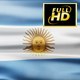 Argentina Flag Waving - VideoHive Item for Sale