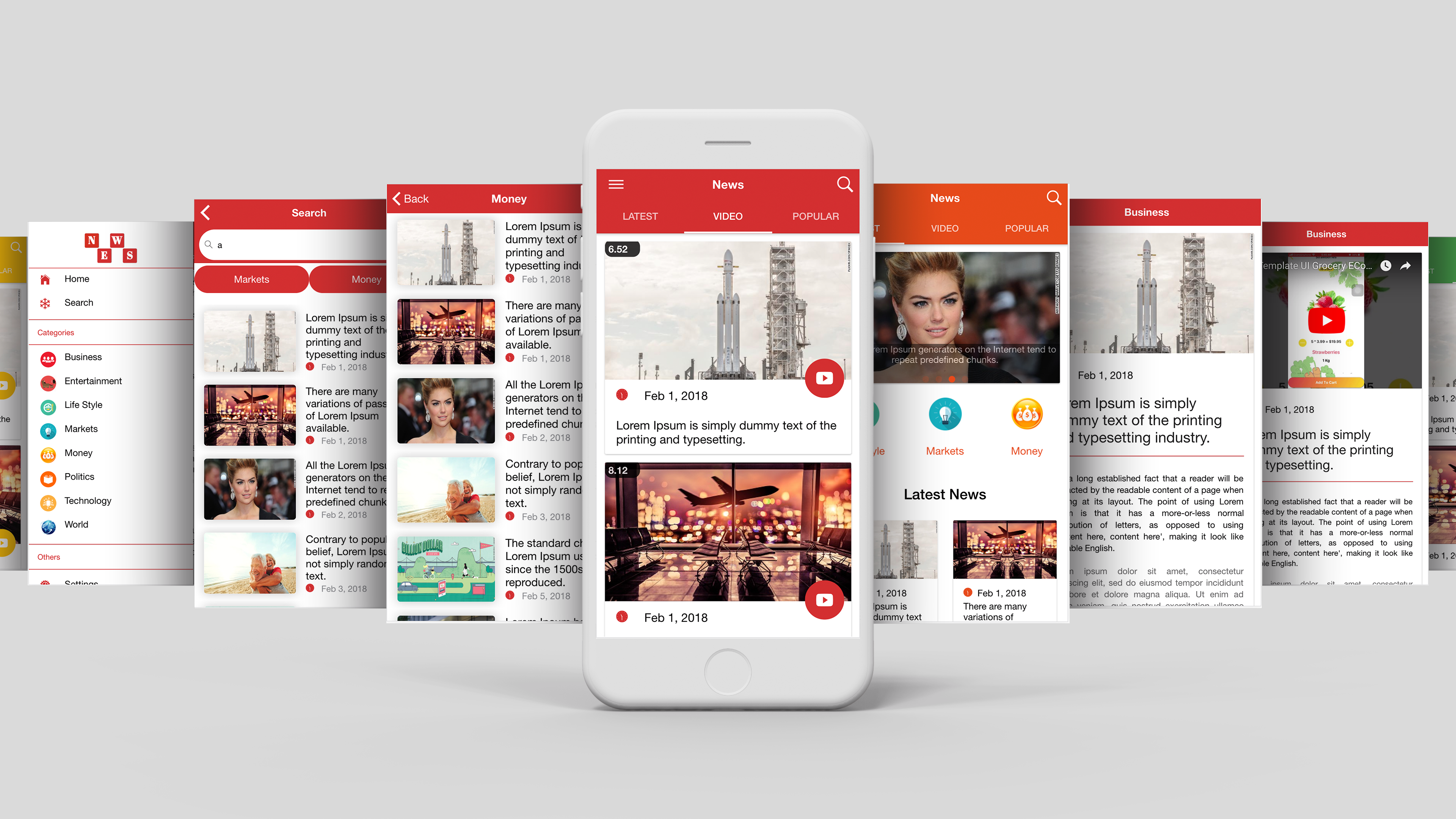 Multipurpose news app template ui ionic 3 by ionicbucket codecanyon by using this app you can easily make any large scale news or magazine app from today and save your development time 100 hours spiritdancerdesigns Choice Image