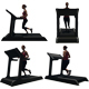 Woman Running on Treadmill 4 pack - VideoHive Item for Sale