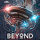 Beyond EDM Electro Dj Party Flyer - GraphicRiver Item for Sale