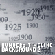 Numbers Timeline Background 2 - VideoHive Item for Sale