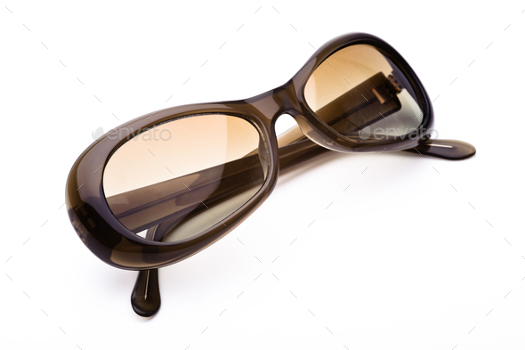 Sunglasses isolated on a white background - Stock Photo - Images