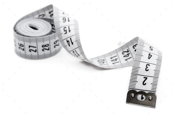 White tailor meter - Stock Photo - Images