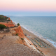 Falesia Beach seen from the cliff at dusk - PhotoDune Item for Sale