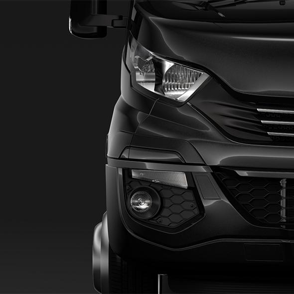 Iveco Daily Minibus L2H2 2017 - 3DOcean Item for Sale