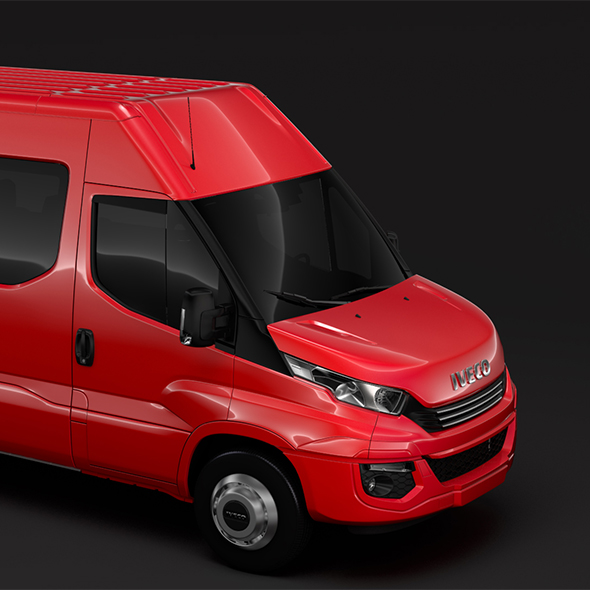 Iveco Daily Minibus L3H2 2017 - 3DOcean Item for Sale