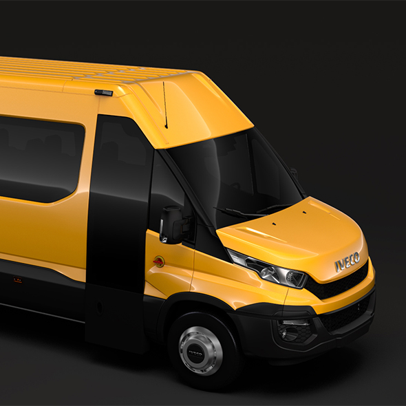 Iveco Daily Tourus L4H2 2014 2016 - 3DOcean Item for Sale