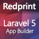 Redprint Laravel App Builder (CRUD Generator Plus)