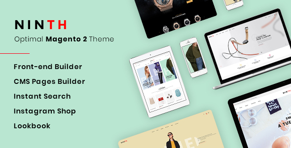 Ninth - Optimal Magento 2 Theme Free Download | Nulled