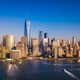 Lower Manhattan Skyline with a view of the One World Trade Cente - PhotoDune Item for Sale