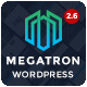 Megatron - Responsive MultiPurpose WordPress Theme - ThemeForest Item for Sale