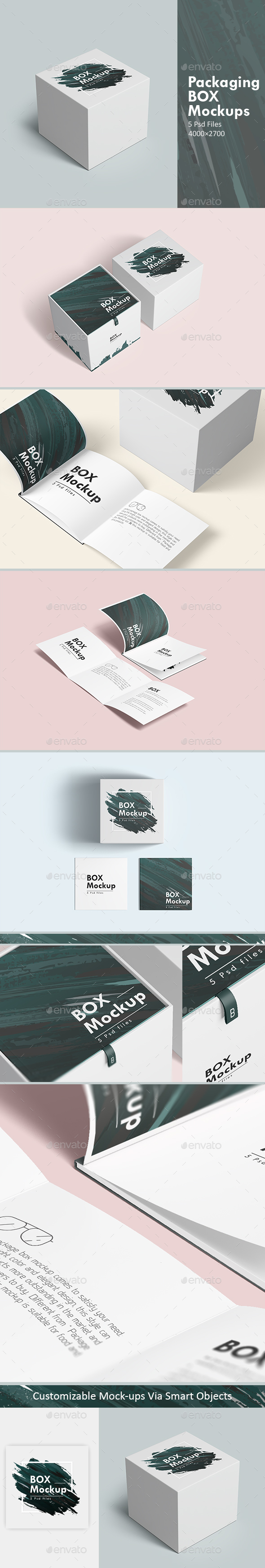 Packaging Box Mockups - Miscellaneous Packaging