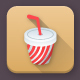 60 Food and Drinks App Icons - GraphicRiver Item for Sale