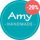 Amy Handmade - Blog and Shop WordPress Theme - ThemeForest Item for Sale
