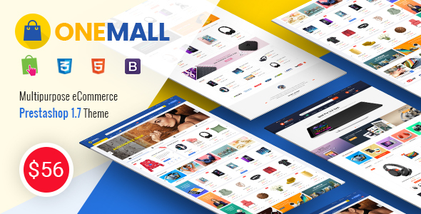 OneMall - Responsive PrestaShop 1.7 Multipurpose Theme - Shopping PrestaShop