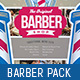 Barber Shop Print Templates Bundle - GraphicRiver Item for Sale