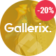 Gallerix - Creative Gallery, Portfolio and Blog Theme - ThemeForest Item for Sale