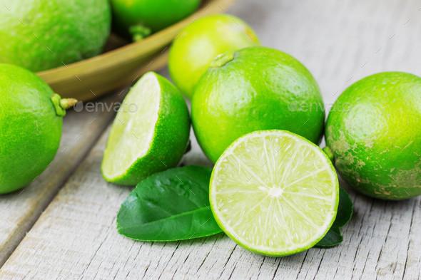 Fresh lemon sliced - Stock Photo - Images