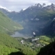 Geiranger Fjord, Beautiful Nature Norway Aerial Footage. - VideoHive Item for Sale