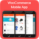 WooCommerce mobile app clothing theme ionic 3