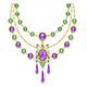 Necklace with Amethyst - GraphicRiver Item for Sale