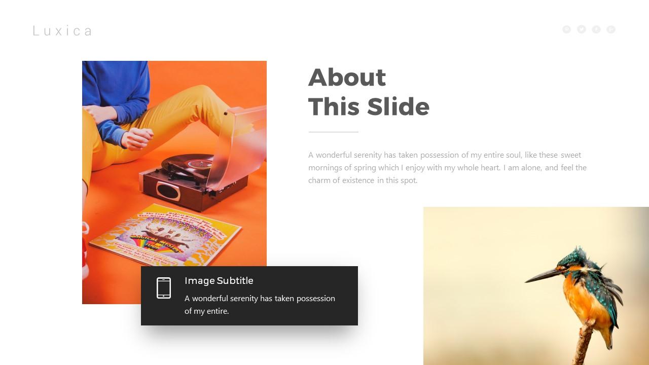 Luxica Presentation Template By Brandearth Graphicriver