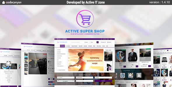 Active Super Shop Multi-vendor CMS - CodeCanyon Item for Sale