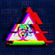 4K Glitch Digital Code - Sign Biohazard - VideoHive Item for Sale