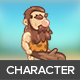 Stone Age Game Character 2D Sprite - GraphicRiver Item for Sale