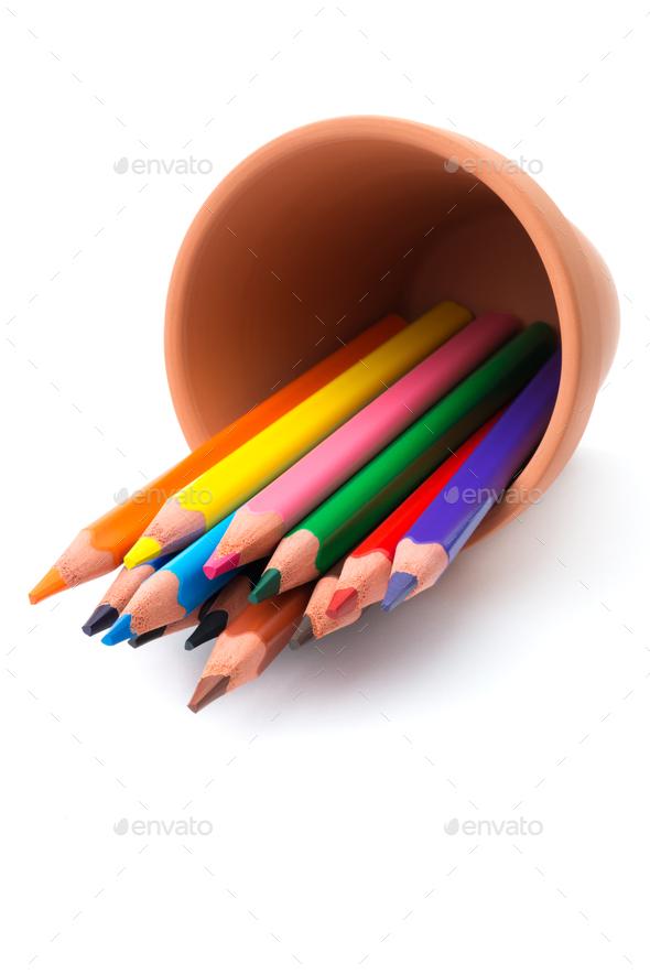 Color pencils - Stock Photo - Images