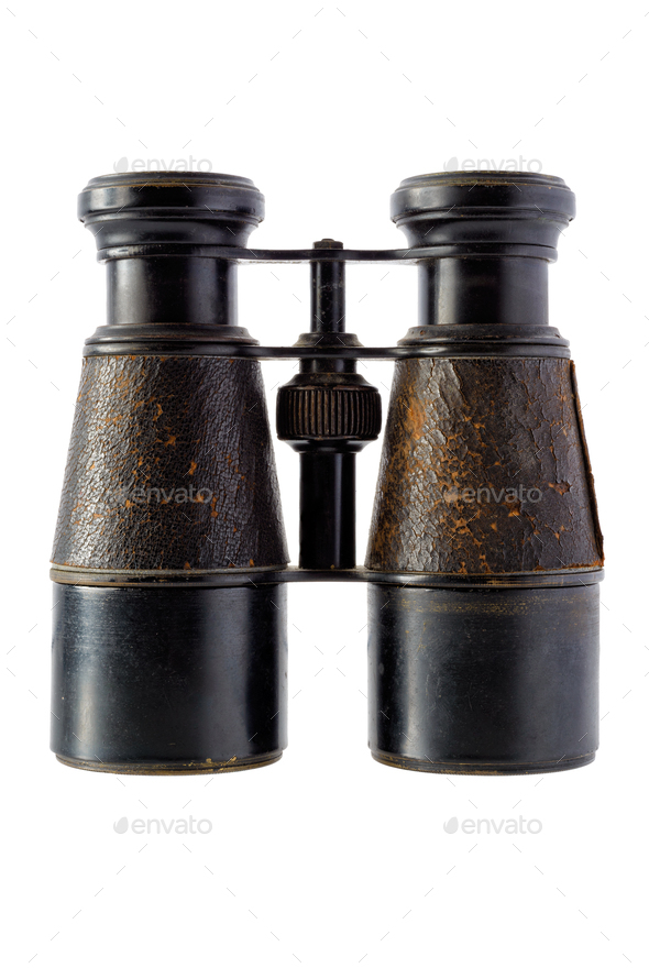 Vintage binoculars - Stock Photo - Images