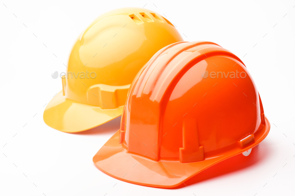 Hard hats - Stock Photo - Images