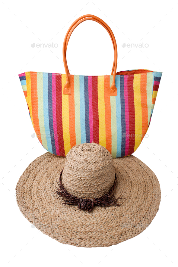 Beach items - Stock Photo - Images